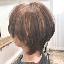 マッシュウルフショートボブ Alアルのヘアスタイル 美容院美容室