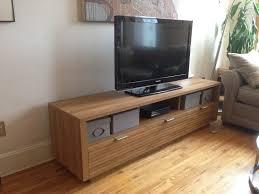 Sauder Tv Cabinet Sauder Soft Modern Entertainment Credenza Pale Oak Tv Stands