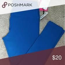 Yogalicious Size Chart Womens Yoga Pants Stylish Blue Yoga Leggings Yogalicious