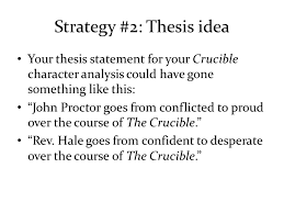 the crucible character analysis essay character analysis essays character analysis essay introduction the strong crucible strong strong characters strong