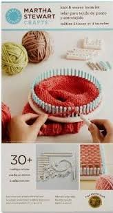 Loom Knit Patterns Unique Martha Stewart Crafts Knit Weave Loom Kit AllFreeKnitting