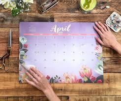 decorative desk blotter calendars orange circle studio calendar orative