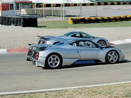 Pagani Zonda C 12 S Monza - Track - Rear Angle - 1024x768 Wallpaper