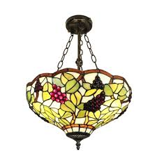 16inch european past retro style chandeliers gs pattern glass shade bedroom living room dining room kitchen lights