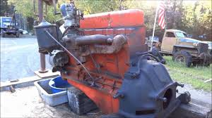 All Chevy chevy 235 engine : 235 Chevy engine with kick starter - YouTube