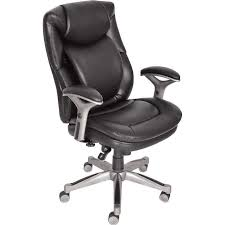 true innovations leather magic back managers desk chair brown best house office and 3