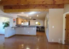 earth orange sned concrete floors