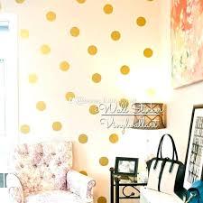 rose gold wall decal golden wall sticker golden polka dots wall sticker sticker baby nursery gold dot wall decal kids golden wall sticker polka dots rose