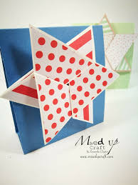 Creative Card Series No 7 Spinning Star Fold Card