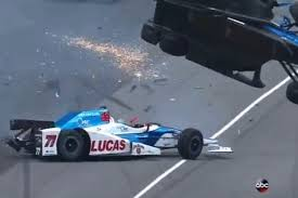 Watch Indy 500 Horrifying Crash That Obliterated the Car (Video)