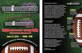 football flyer templates football camp brochure youth football flyer templates football camp