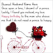 Birthday Quotes For Husband Stunning Birthday Wishes Quotes For Husband With Name