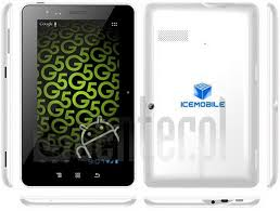 ICEMOBILE G5 Specification - IMEI.info