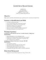 Sample Bartender Resume Skills Head Bartender Resume Terrific Best Bartending Resume Skills