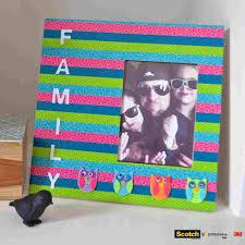 family photo frame craft ideas