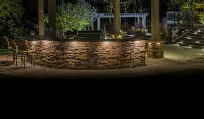 patio lighting design installation