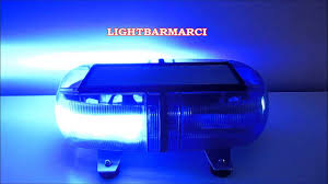 Federal Signal Solaris Light Bar Federal Signal Vama Mini Phoenix Sputnik Blue Blue Hd Video