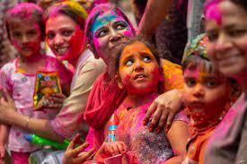 Holi Celebrations as Virus Cases Surge ...