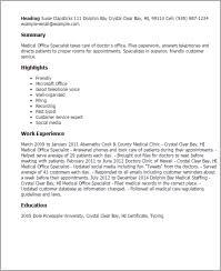 Chart Retrieval Specialist Job Description Human