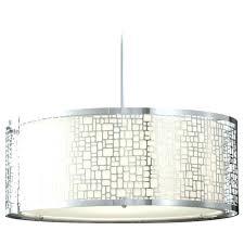 large drum chandelier lighting