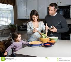 Family Kitchen Family In Kitchen Stock Photos Image 2284533