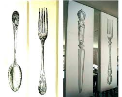 fork spoon wall decor and our gallery of excellent ideas large best utensil kitchen utensil wall decor set kitchen