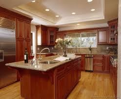 wonderful cherry wood cabinets kitchen and cherry wood cabinets kitchen office table