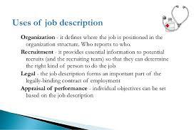 Medical Assistant Job Description