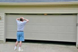 garage door wont open manually garage garage door opener won t work can be a disaster