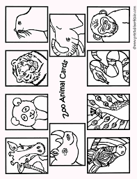 Small Picture Coloring Pages Home Of Animals Printable Design Coloring Zoo