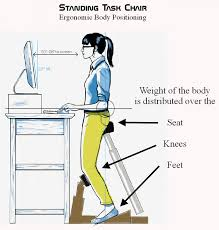 standing desk chair