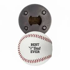 father s day baseball bottle openers for dad