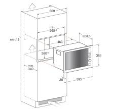 standard microwave size. Hotpoint MWH122 1X Built In Microwave Oven Appliance House For Dimensions Plans 3 Standard Size