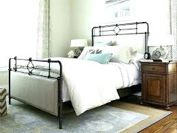 Wrought Iron King Bed Frame King Size Black Iron Bed Black Iron Bed ...