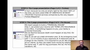 Primerica Presentation Primerica Presentation Script Training Video Ner Youtube