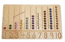 Wooden Bead Game New MNS 32320 Bead Stairs Wooden Board Beads