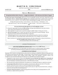 Engineering Sales Manager Resume Sample Sales Manager Resume Sales