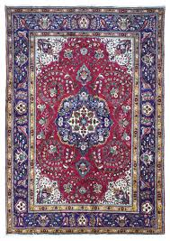 red blue and gold large persian sarouk oriental rug 8 3x12 traditional area rugs by fine rug collection