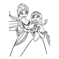 Kleurplaten Elsa En Anna Uniek Kleurplaten Frozen 2 Topkleurplaat