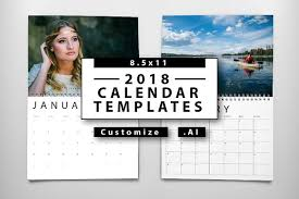 Indesign Calendar Template 2018 Sales 01 - Templates Collections