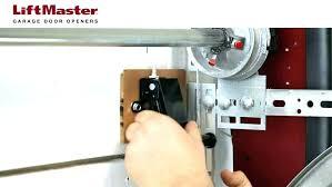 wall mounted garage door opener how to install a side mount garage door opener liftmaster wall