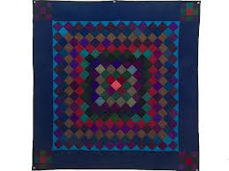484 best Amish Quilts images on Pinterest   Amish quilts, Antique ... & Amish Wool Trip Around the World Wall Hanging -- gorgeous handmade quilt  from Lancaster PA. Meticulously made by an Amish woman in her own home. Adamdwight.com