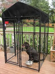 lucky dog heavy duty dog cage outdoor pet playpen 4 ft x 4ft x 6 ft h spots dog kennel