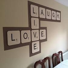 Scrabble Wall Tiles Giant Scrabble Wall Letter By Copperdot Notonthehighstreetcom