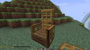 how to make a chair in minecraft. How To Make Advanced Chairs In Minecraft! [Minecraft Furniture Series] - YouTube A Chair Minecraft