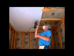 how to hang sheet rock how i hang sheetrock drywall on the ceiling by myself or