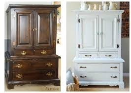 robins egg blue cabinet before after