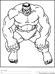 Adult Free Hulk Coloring Pages Free Printable Hulk Coloring Sheets
