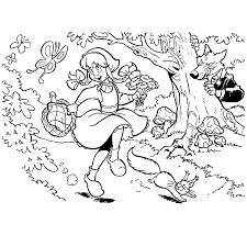 Leuk Voor Kids Roodkapje In Het Bos