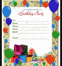 Birthday Invitation Cards Templates Word Template Invitation Simple Invitation Templates Word